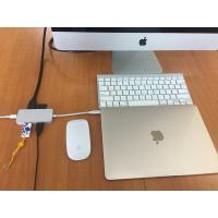 China Factory Direct Supply Aluminum Type-C Multi-port adapter USB3.1 Type C Hub Adapter with USB 3.0/Type-C/PD 2.0 Charger wholesale