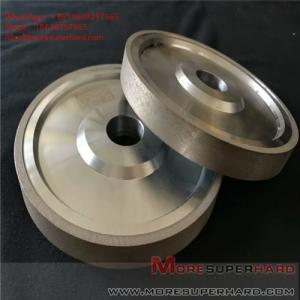 China Carbide processing by metal bond diamond grinding wheel Alisa@moresuperhard.com wholesale