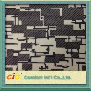 China Printing auto vinyl upholstery fabric 200gsm 300gsm , Bus Seat Fabrics wholesale