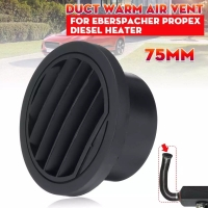China Flat Caravan Diesel Heater Ducting Air Outlet Vent Connector For Webasto Eberspacher wholesale
