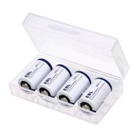 China Low Self Discharge CR2 Lithium Batteries 800mah 3V , 4 in 1 Battery Pack wholesale