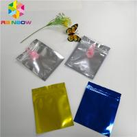 China Mylar Bag Stand Up Spout Pouch Transparent Front Foil Three Sides Heat Seal wholesale