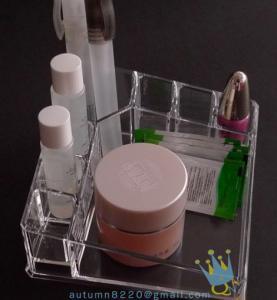 China CB (87) clear makeup box wholesale