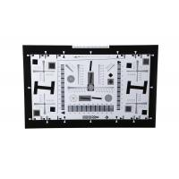 China 8X ISO12233 4000 lines high resolution camera test chart for over 100MP Megapixel camera (160x284.4 cm) wholesale