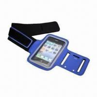 China Neoprene Sports Arm Band/Belt, Used for iPod, iPhone and Mobile Phone wholesale