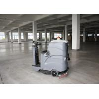 China OEM 3 Speed Hard Ground Ride On Floor Scrubber Dryer For Zoom wholesale