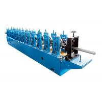 China Track Rails Forming Machine Roll Shutter Door Forming Machine Aluminum Material wholesale