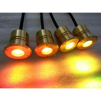 China Super Bright 3w Mini LED Underwater Pond Lights With Brass Housing wholesale