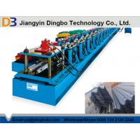 China Gcr15 Steel Guard Rail Roll Forming Machine With CE Standard , High Efficiency wholesale