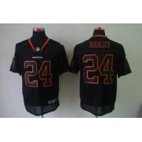 China Nike NFL Denver Broncos 24 Bailey lights out black elite jersey www.doamazingbusiness.net wholesale