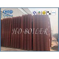 China Heat Exchange Steam Boiler Economizer , Carbon Steel Type H Finned Tube Economizer ASME Standard on sale