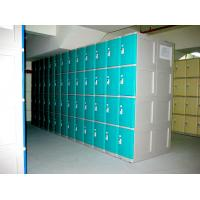 China 10 Tier Beige Keylesscoin Operated Lockers , Mobile Phone Lockers For Factory wholesale