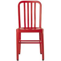 Quality Lex Mod Red Dining Metal Navy Chair Replica , EMECO 111 Navy Chair for sale