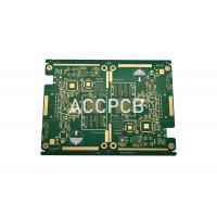 China Goldfinger High Density PCB Rapid Prototyping PCB High Frequency for Sound Card on sale