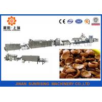 China Fully Automatic Corn Processing Machine , Industrial Rice Flakes Making Machine wholesale