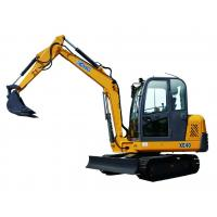 China 6 Ton Mini crawler Excavator With Hydraulic Pump Rated Loading 5960kg wholesale