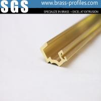 China Brass Extrusion Profiles and Decorative Copper Brass Profiles wholesale