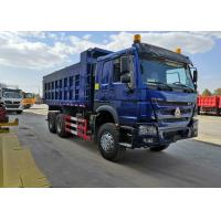 Buy cheap SINOTRUK HOWO Blue 371 Horse Power Tipper Heavy Duty Dump Truck 28CBM 50 Tons from wholesalers