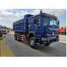 Buy cheap SINOTRUK HOWO Blue 371 Horse Power Tipper Heavy Duty Dump Truck 28CBM 50 Tons from wholesalers