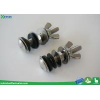 China Solid Inox / Stainless Steel Toilet Bolts To Connect Toilet Tank And Bowl wholesale