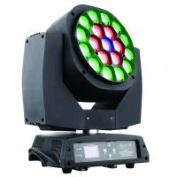 Buy cheap 19pcs Big Bee Eye Moving Head LED Lights With Zoom For Event Show Lighting from wholesalers