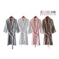 China Customize Color / Size Hotel Style Bathrobes With Embroidery Logo 1200g wholesale
