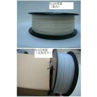 Quality 3D Printing Color Changing Filament High Performance , White To Blue for sale