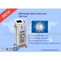 China Touch Screen Professional 808 Diode Laser Hair Removal Machine For Body wholesale