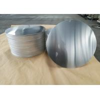 Buy cheap Cookware Aluminum Sheet Circle Silver With Pre Painted Non - Stick Black Coating from wholesalers
