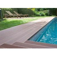 China Latest Co-Extrution WPC Composite Decking Flooring With Uv Resistant Outdoor wholesale