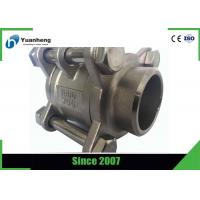 Buy cheap Butt Weld End 1000PSI 3PC Ball Valve Stainless Steel 316 Material from wholesalers