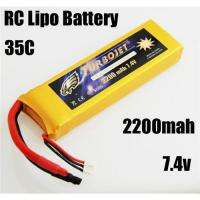 China 7.4v 2200mah RC Rechargeable lipo battery for RC helicopter,RC car,rc airplane wholesale