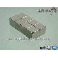 China Sintered Permanent Neodymium Magnetic Cube wholesale