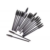 China Black Artificial Fibers Brushes Cosmetic Beauty Tools For Eyelashes / Eyebrows wholesale