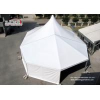 China 500 People White PVC Roof Cover High Peak Tent With Solid Aluminum Frame For Event on sale