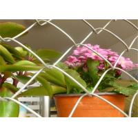 China Smooth Surface Chain Link Fencing Rolls With 1 Inch Mesh Corrosion Resisting on sale