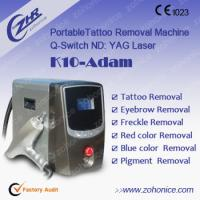 China Skin Care Laser Tattoo Removal Machine Pigment Removal , Portable Yag Laser wholesale