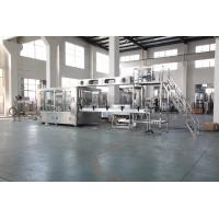 PLC Control Liquid Drinking Water Filling Machine For Plastic Bottle CE SGS ISO