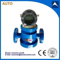 China oval gear flow meter used for oil with 4-20mA output and LCD diaplay wholesale