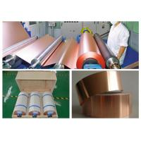 China 7 Mic LB Single Shiny Copper Thin Sheet High Temperature Resistance wholesale