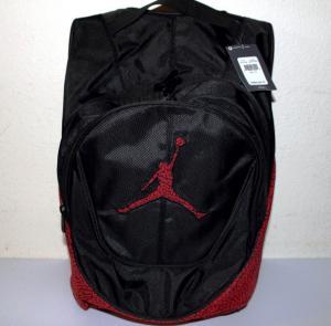 China Nike Air Jordan Jumpman backpack /school book bag black,red Elephant Print on sale