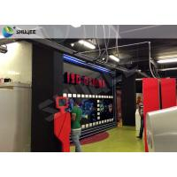 China Truck Mobile Cinema 5D Movie Theater Motion Cinema Theater System Special Effect wholesale