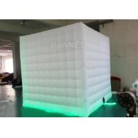 China 8 Ft Inflatable Cube Photo Booth UV Resistant PLT - 025 2 Years Warranty wholesale