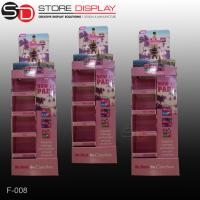 China Recycled retail store corrugated cardboard POP display shelf wholesale