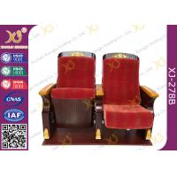 China Commercial Triangle Arm Conference Room Church Seats / Auditorium Chair wholesale