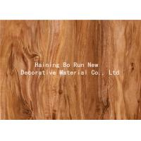 China Hot Stamping Realistic Wood Grain Film Customised Decorative Pattern wholesale