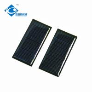 China 0.3W 5.5V mini solar panel photovoltaic For mini solar powered toy diy car kit ZW-5526 on sale