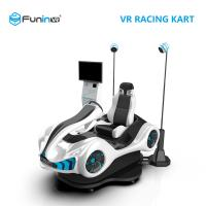 China High ROI VR Racing Simulator Cart Custom Theme With Realistic Racing Maneuvers on sale