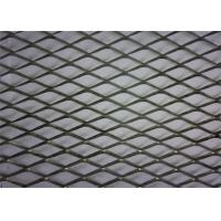 China PVC Coated Diamond Aluminium Expanded Mesh With Modern House Design Wallpaper wholesale