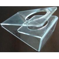 China Scratch resistance Acrylic Display Holders , 3mm Clear acrylic dryer holder wholesale